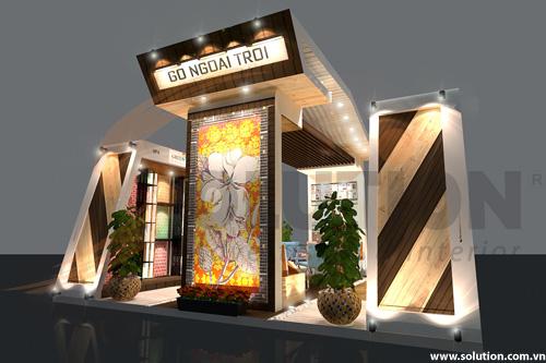 Chuyên thiết kế nội thất triển lãm