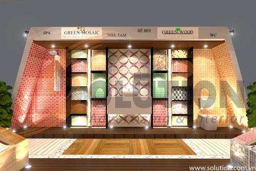 Đơn vị thiết kế thi công nội thất triển lãm