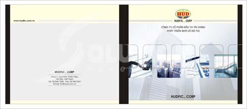 Thiết kế catalogue tập đoàn HUD