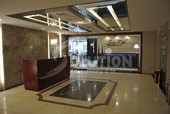 Công ty thiết kế nội thất khách sạn cao cấp