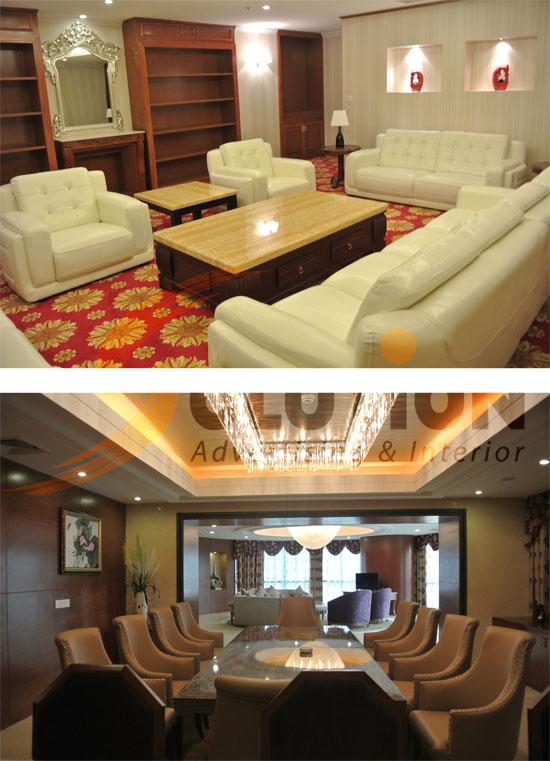 Công ty chuyên thiết kế thi công nội thất khách sạn