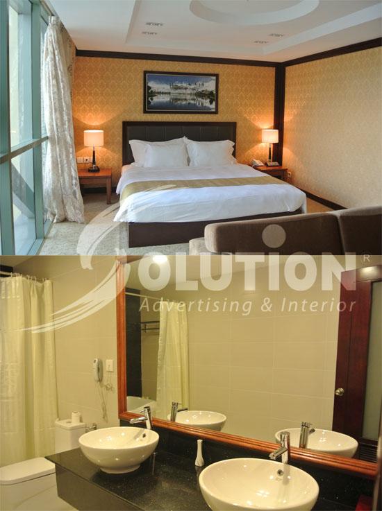 Thiết kế thi công nội thất khách sạn đẹp