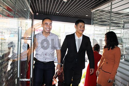 Rất đông các khách mời là những doanh nhân thành đạt quan tâm tới dịch vụ của Thiên Tân