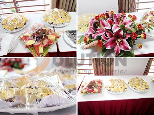 Những món ăn hấp dẫn và lạ mắt vào cuối buổi lễ