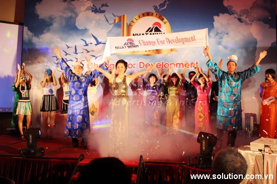 Nhật Minh tưng bừng kỷ niệm 10 năm thành lập công ty